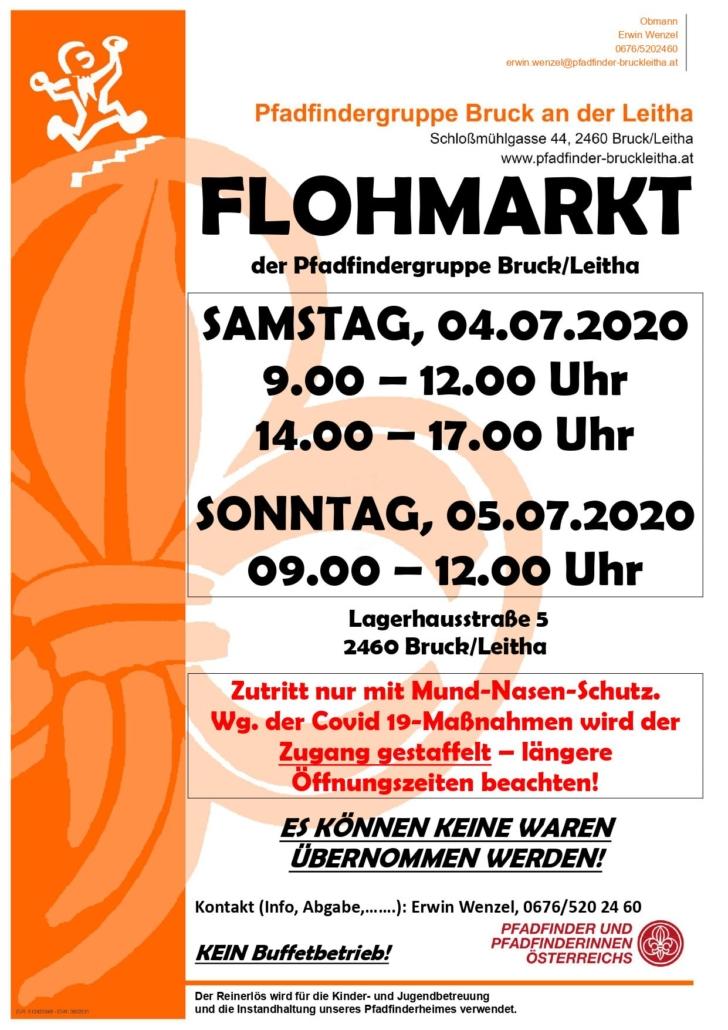 Padfindergruppe Bruck/Leitha Juli 2020